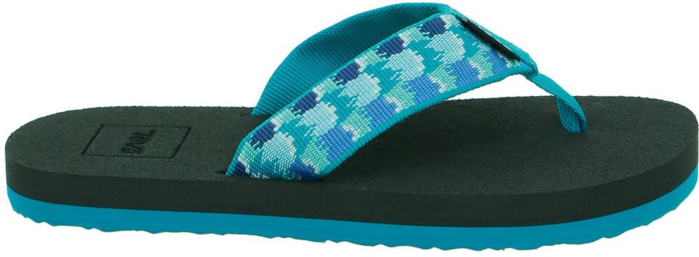 Zapatos azules Teva Mush infantiles ZpEX4GjhB2